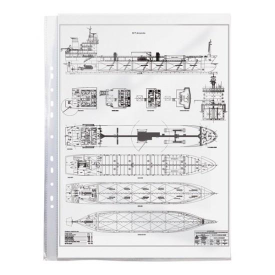 Файл А3, глянцевий, 40мкм (шт.), вертик