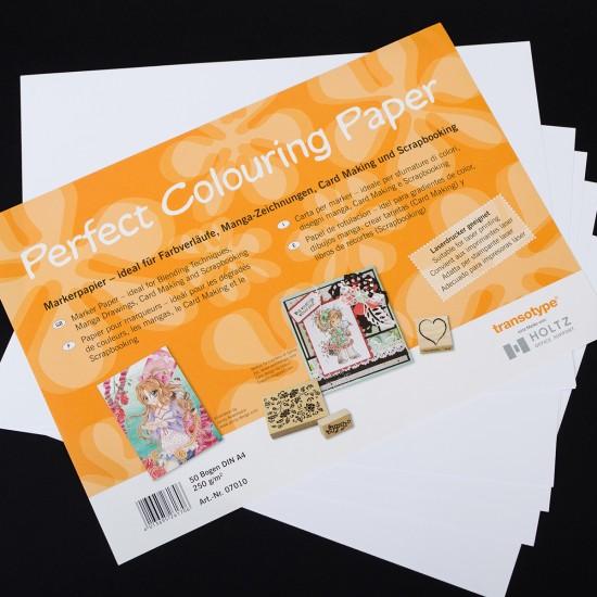 Transotype папір для маркерів, А4, 250 гр, (50ар), 1шт