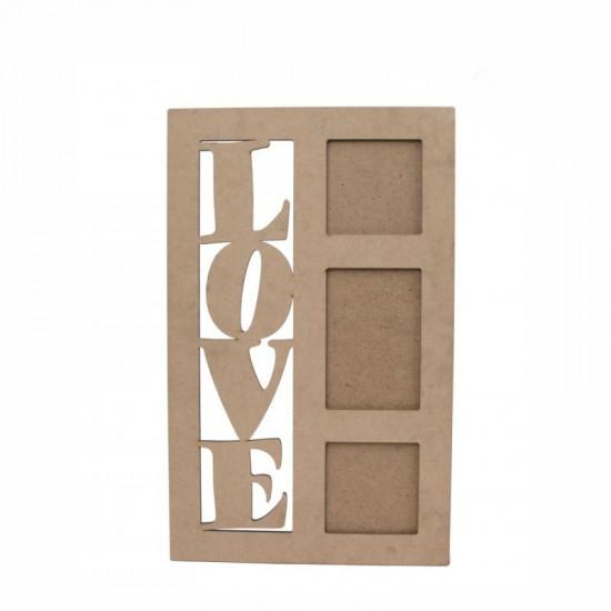 """Заготовка рамка """"Love"""" 1, МДФ, 30,5х49см, ROSA TALENT"""