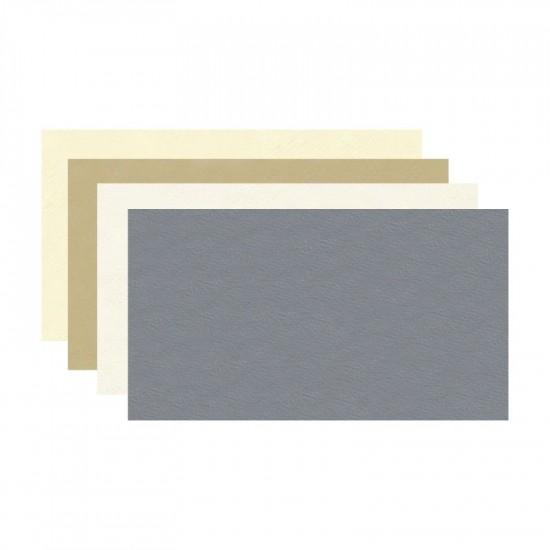Fabriano папір акварельний Rusticus A2 (59,3*42см) Ardesia (сірий) 200г/м2, середнє зерно