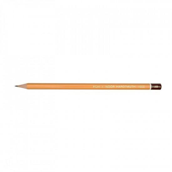 Олівець графітний, KOH-I-NOOR Hardtmuth 1500, 2B
