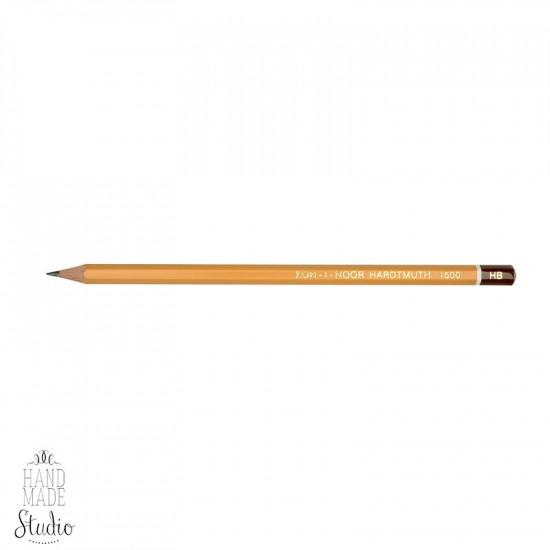 Олівець графітний, KOH-I-NOOR Hardtmuth 1500, НВ