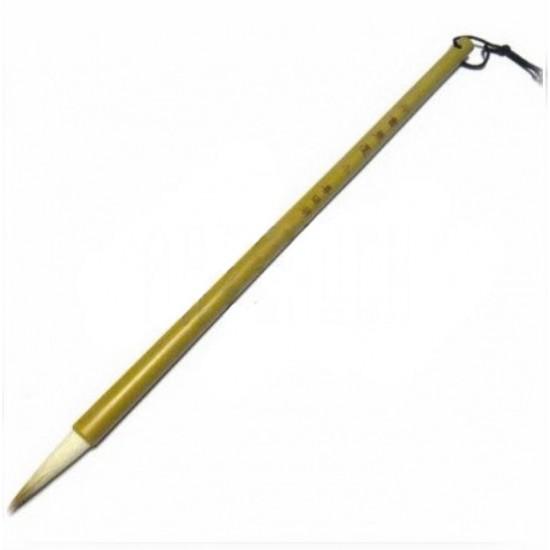 #27 Кисть бамбуковая для китайской каллиграфии и живописи, двойной ворс, 27 см