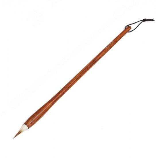 Кисть для китайской каллиграфии и живописи, шерсть ласки, 27,5 см.