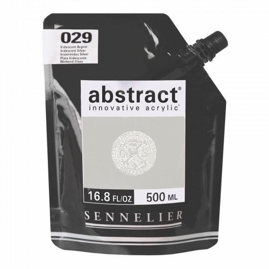 029 Краска акриловая Abstract, 500ml Light Violet. Sennelie, шт.