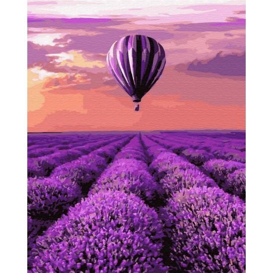 """Картина по номерам, Воздушный шар в Провансе, """"BrushMe"""""""
