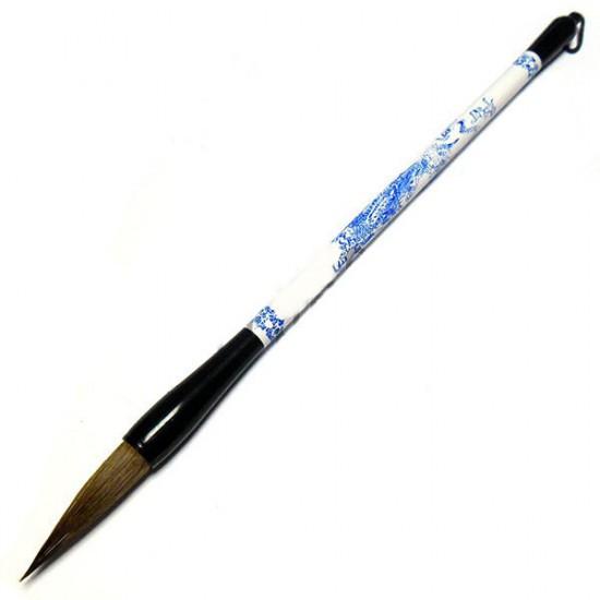 """КС-11 Кисть для китайской каллиграфии и живописи, """"Дракон в поднебесной"""", 26,5 см."""