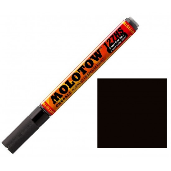 Акриловий маркер ONE4ALL ™ 127HS-2мм чорний # 180