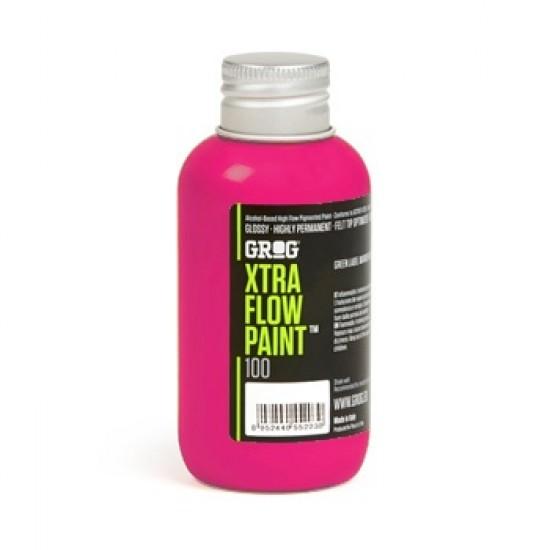 Чернило Grog Xtra Flow Paint 100ml Jellyfish Fuchsia