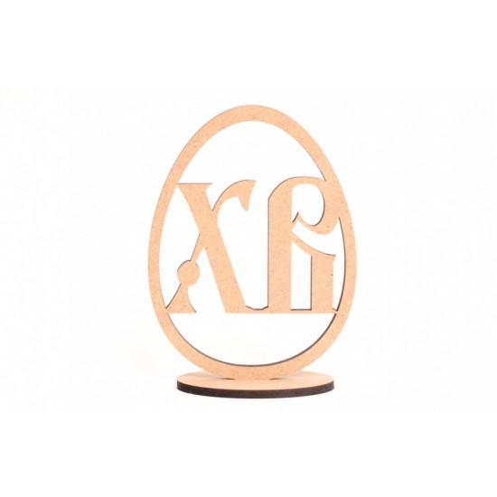 Заготовка Яйце 5, шт, МДФ, 8,5х6х0,5см, Rosa Talent