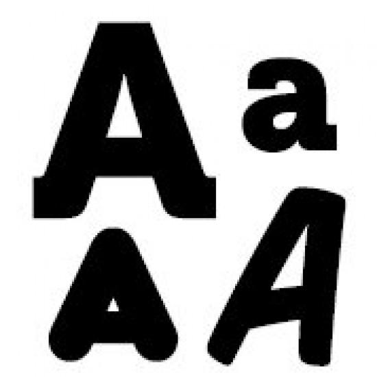 """Набір штампів, Clear Stamps Літера """"A"""""""