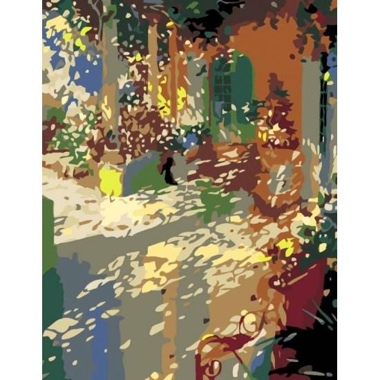 """Набір-стандарт, картина за номерами, """"Шедеври світового мистецтва 8.52"""", 35х45см, ROSA START"""