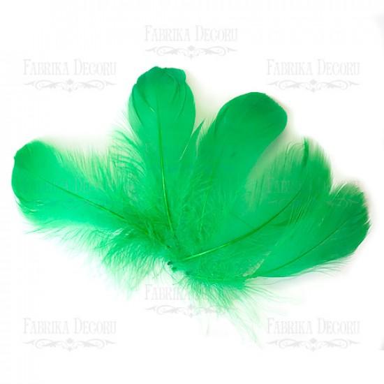 """Набор перьев макси """"Зеленый"""""""