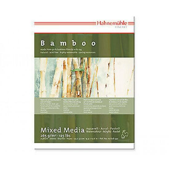 Hahnemuhle альбом для змішанних технік MixBamboo, 24*32 см, 265г/м, 25арк, середнє зерно