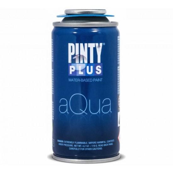 Лак-аерозоль на водній основі Aqua, матовий, 150 мл, PINTYPLUS