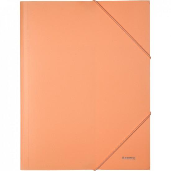 Папка на гумках, А4, Pastelini, персикова