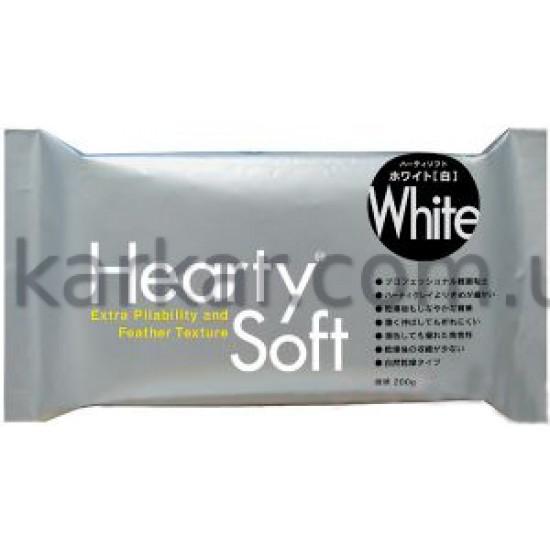 Пластика самозастигаюча Hearty Soft, Біла, 200 г, Padico
