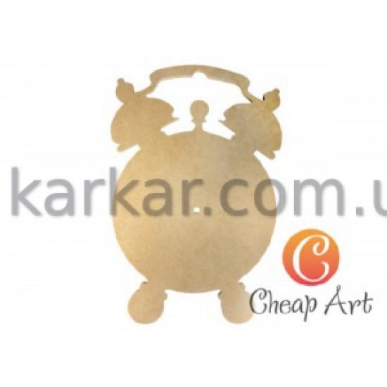 """Основа під годинник МДФ, """"Будильник"""", 300*200мм, Cheap-Art"""