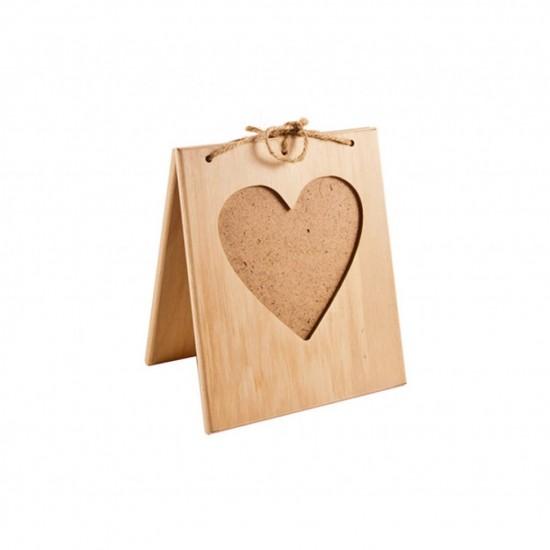 Рамочка для фото-валентинка вертикальная, 10*10см.