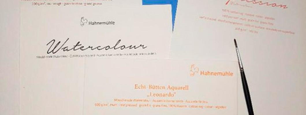 Огляд на найпопулярніший папір Hahnemühle.
