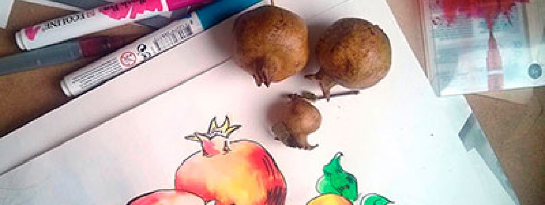 Огляд акварельних маркерів Ecoline Brush Pen, Royal Talens.