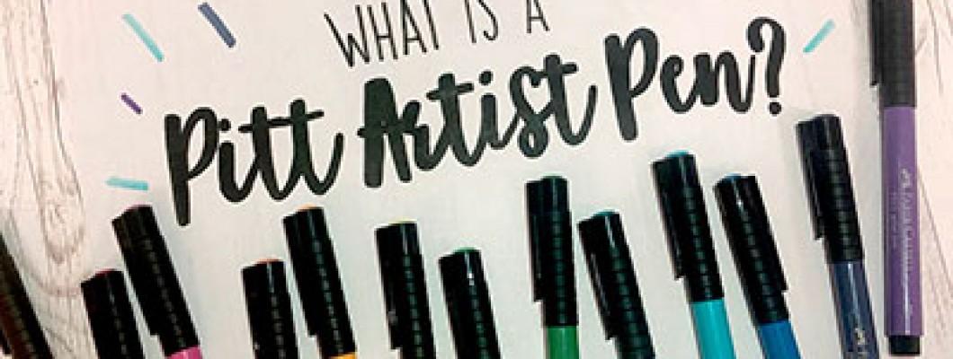 Обзор маркеров PittArtistPen от компании FaberCastell и небольших мелочах